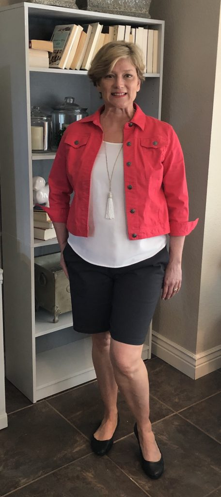 Check out my reveal of the Top 3 Shorts for Women Over 40!