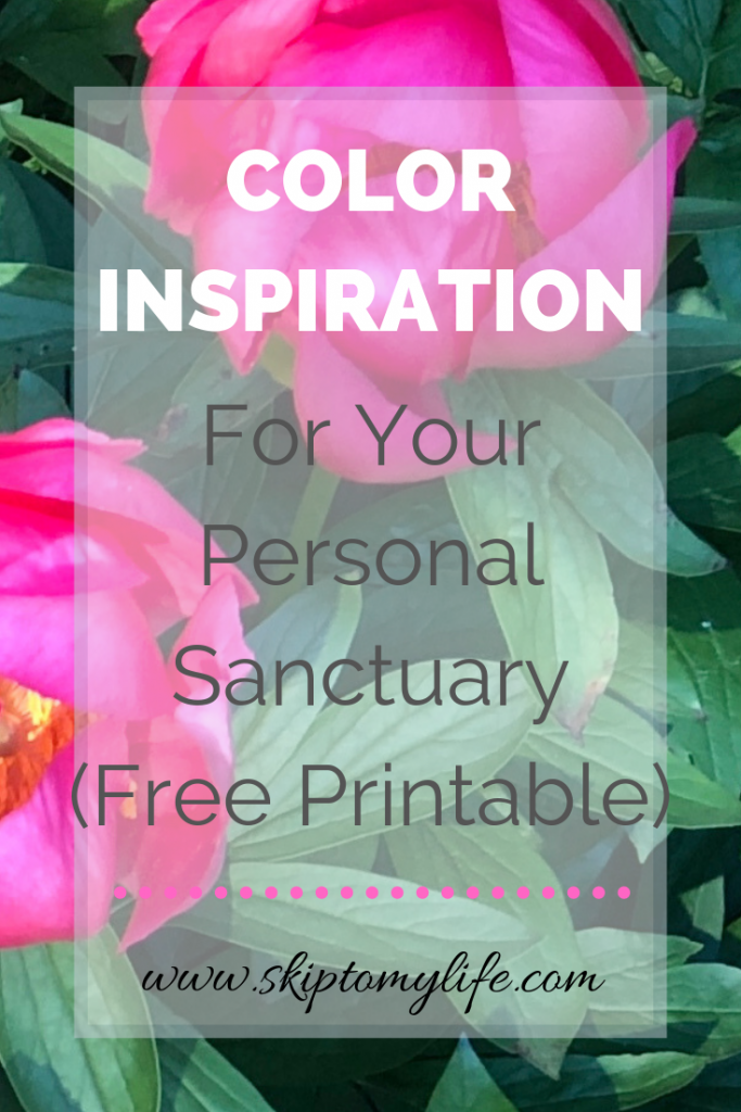 Discover the best color inspiration for your personal sanctuary by looking in unexpected places.