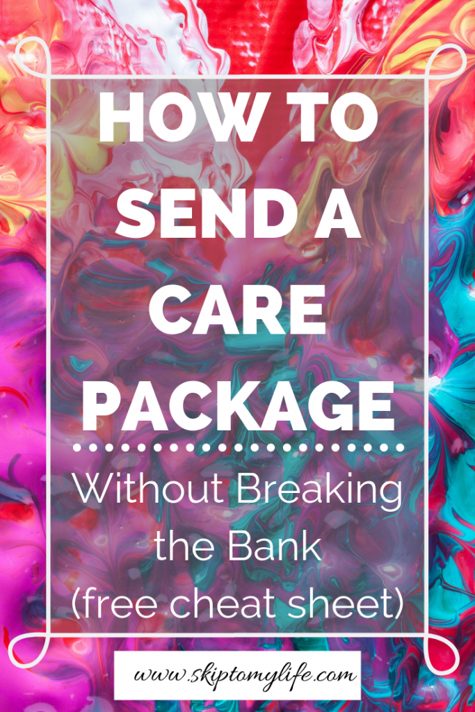 Don't send your student a care package without watching this video first!
