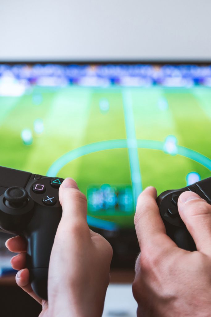 Studies show adults who play video games have some advantages in mental focus.