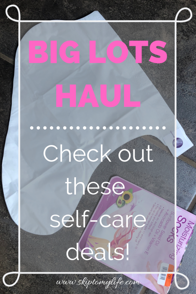 Take great care of yourself with items from Big Lots.