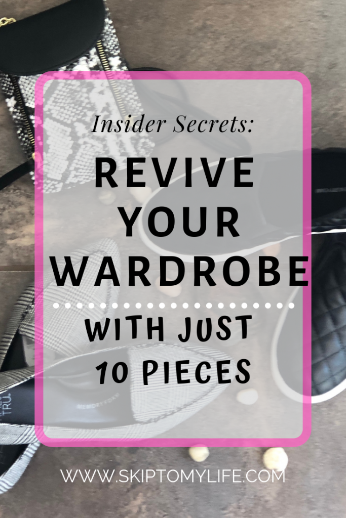 Update your over 40 wardrobe with 10 classic pieces and this free printable!