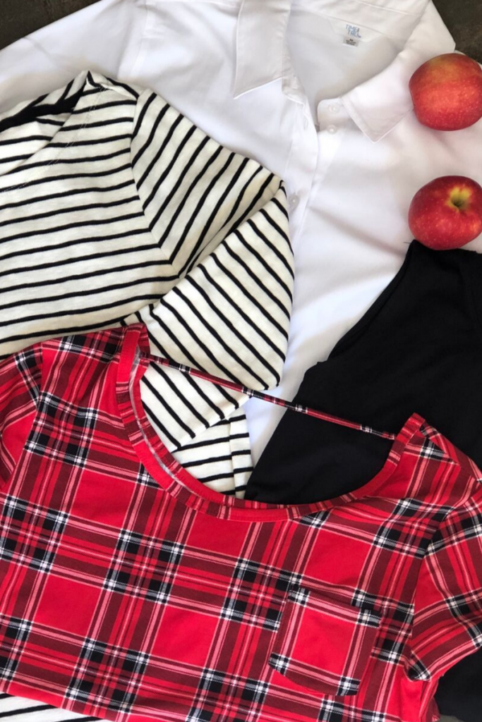 Revive your wardrobe with 4 classic tops.
