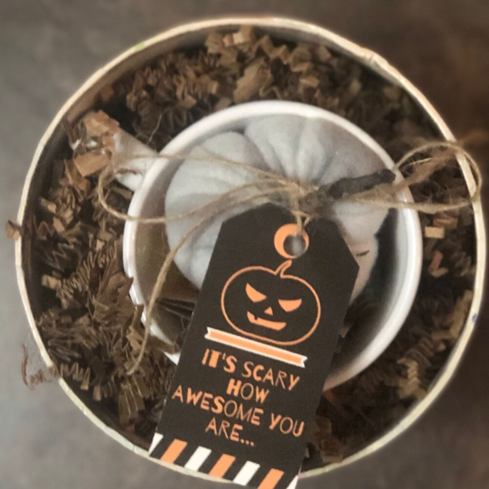 Fall is here and you can send a fun care package for pennies with these printable tags.