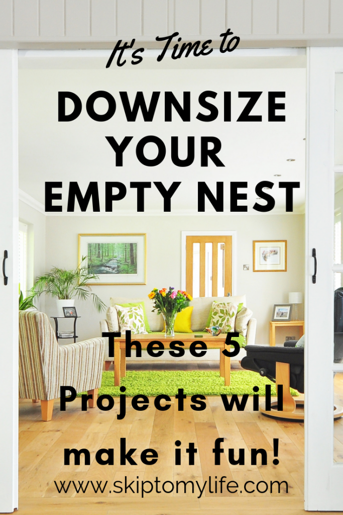These 5 simple projects will get you excited to downsize.