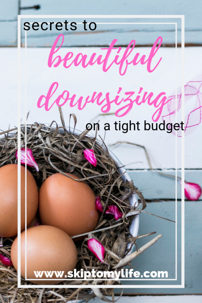 Get excited about the benefits of downsizing! Greater freedom, less expense, and a simpler life.