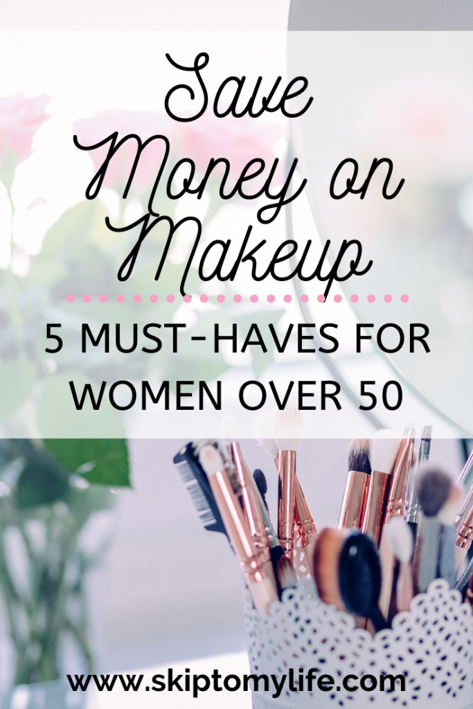 Save money on makeup. Don't break the bank to look fantastic over 40.