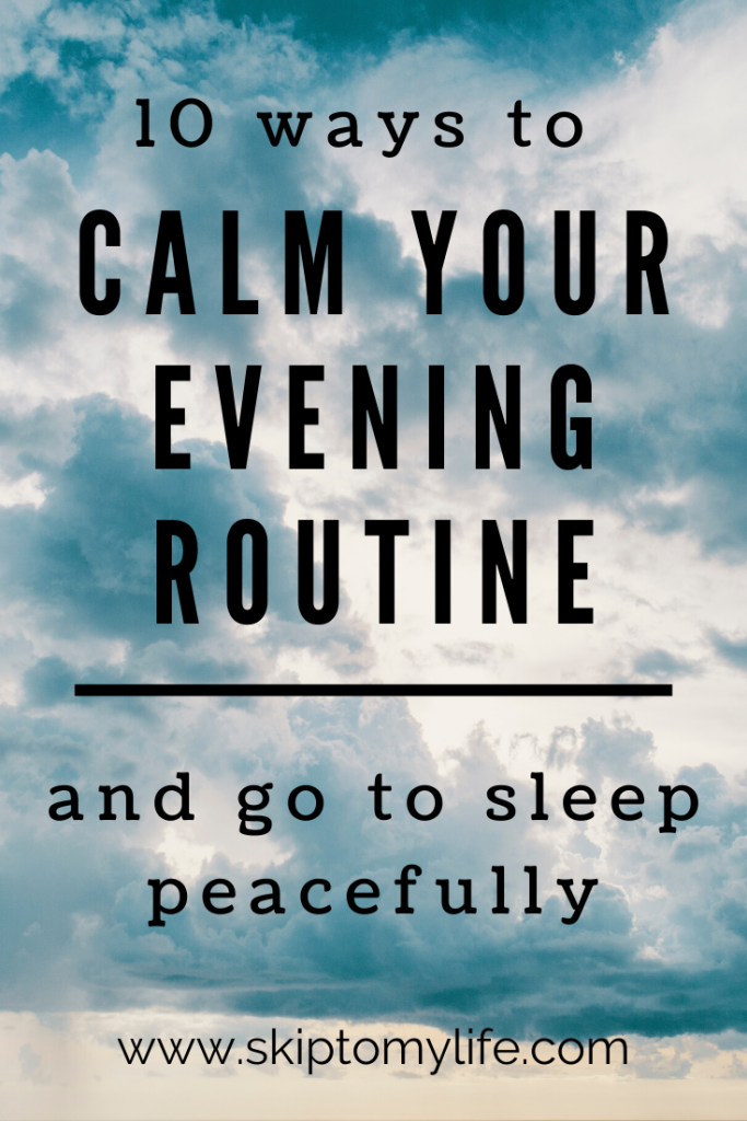 Change your evening routine and get a great night's rest.