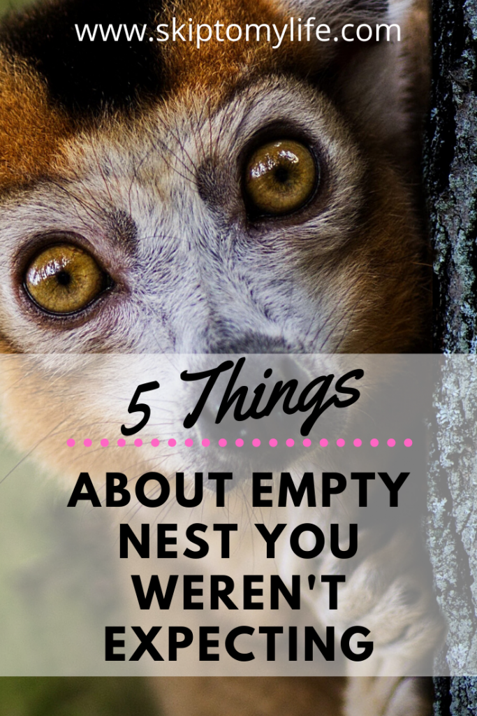 You can make the Empty Nest transition with these 5 things you weren't expecting.