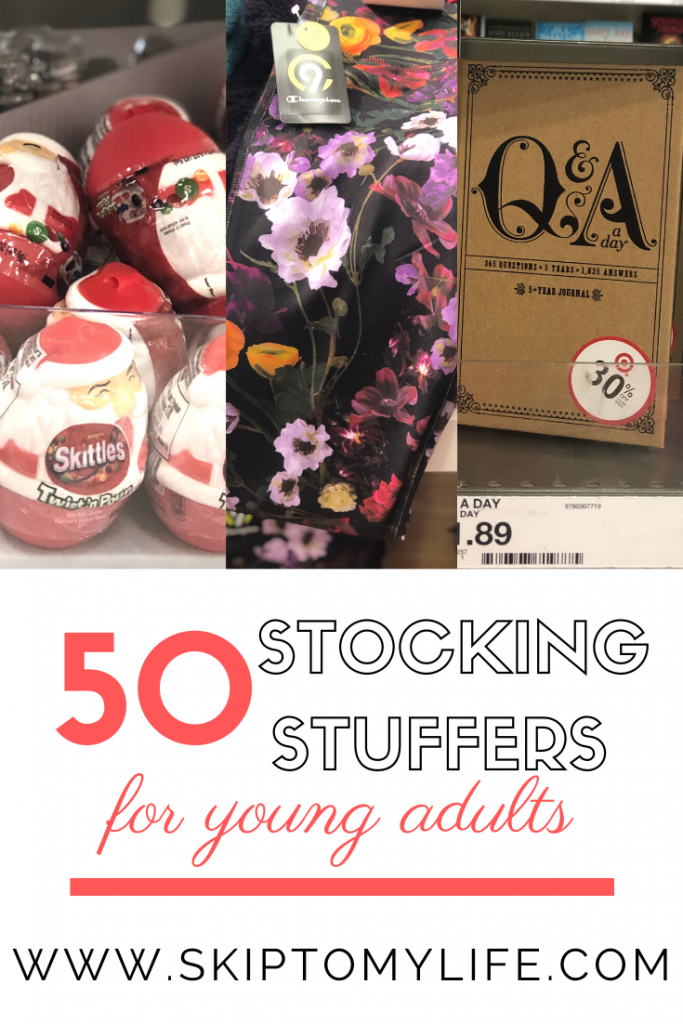 These 50 stocking stuffers for young adults will make your shopping easy.