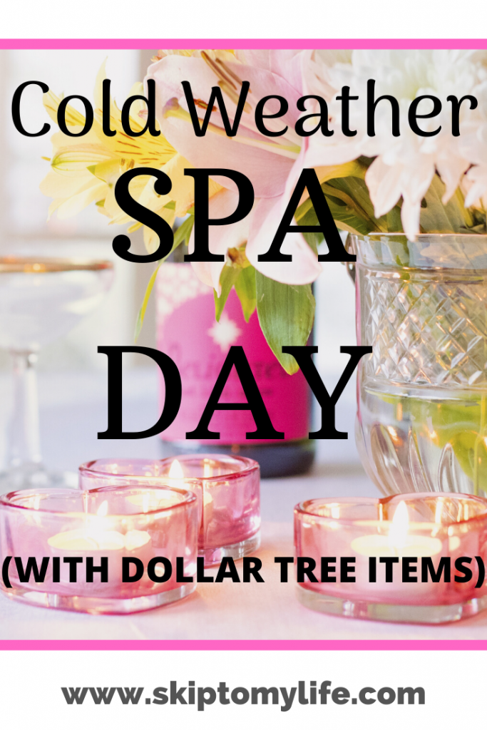 Keep a stash of cold weather spa day items on hand for when you need it most!