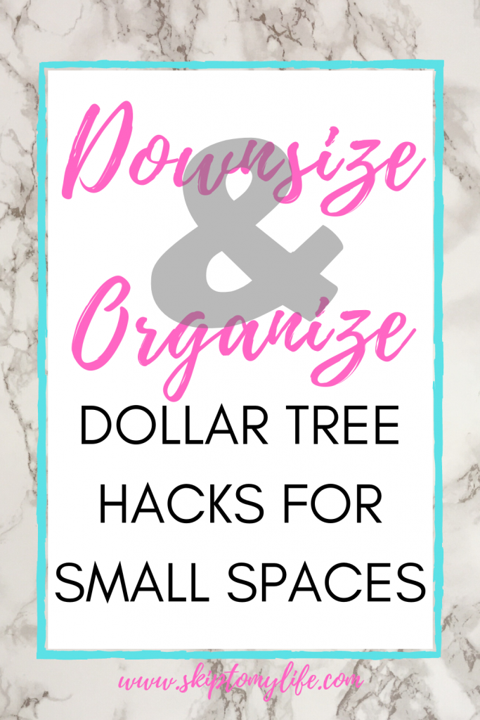 Use these DIY Dollar Tree hacks to finally cure your clutter in the nooks and crannies.