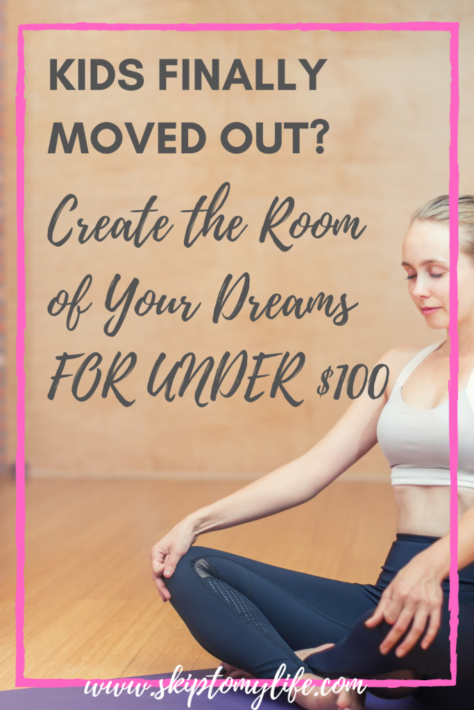 Transform your kid's empty room and make it your own.