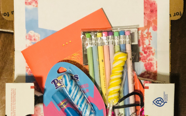 With these spring care package printables your student will feel very special.