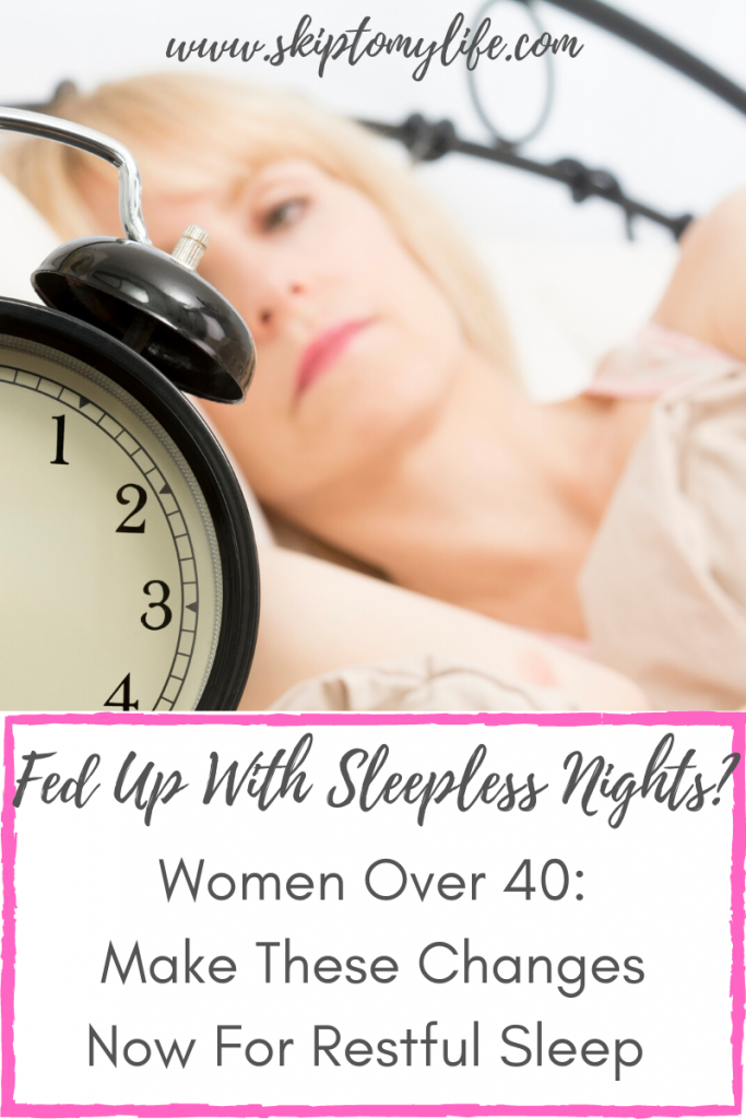 If you struggle with getting a good night's sleep, try these tips.