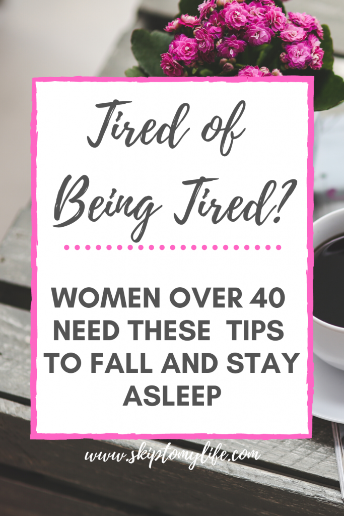 If you struggle with sleepless nights as you age, you need these 5 tips.