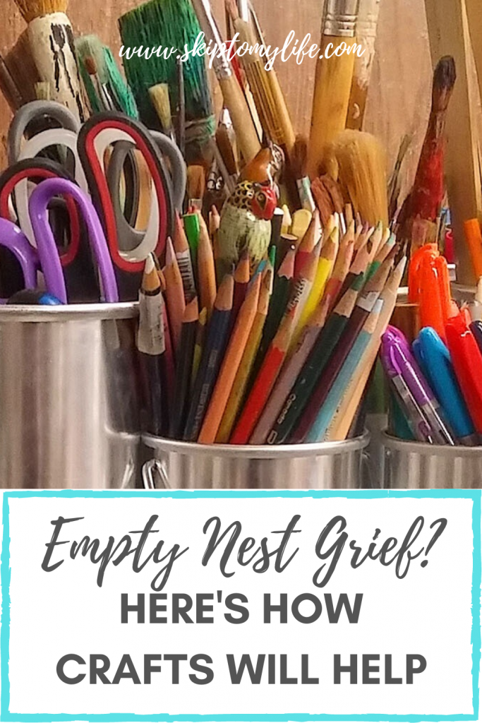If you're grieving the loss of your purpose, these crafting ideas will help.