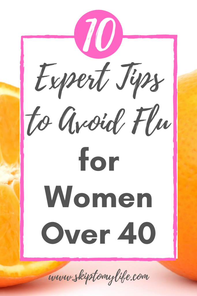 If you're a woman over 40 you need these tips for avoiding flu this season.