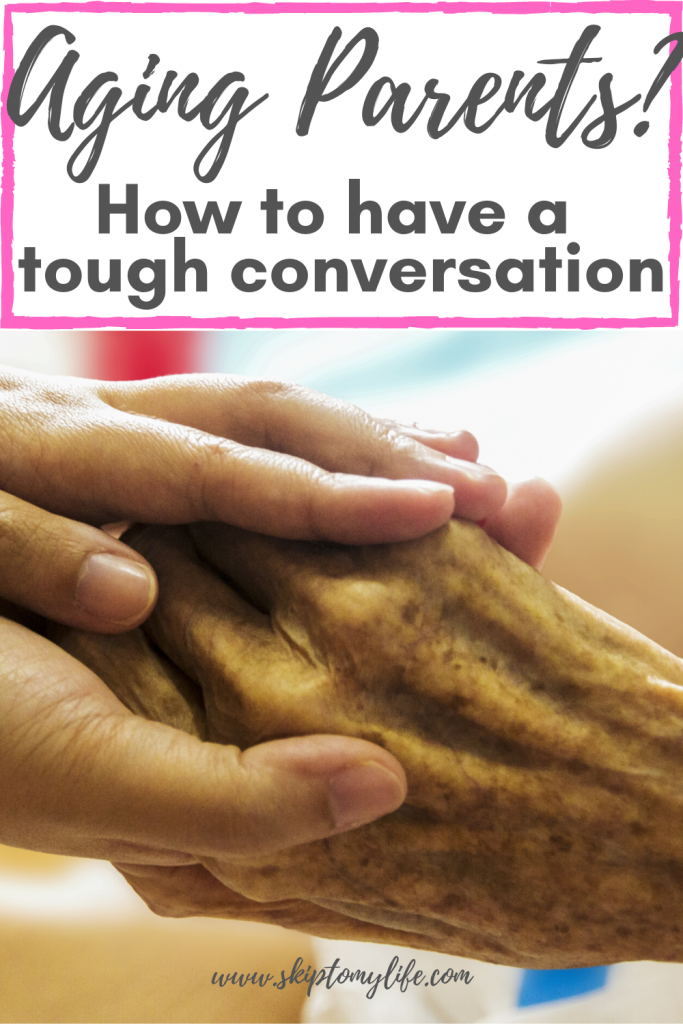 Is it time to have a scary talk with aging parents? This guide will help.