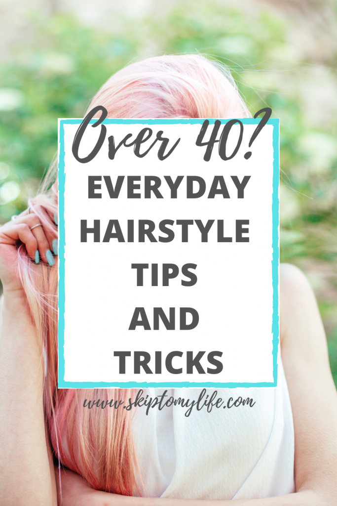 These everyday hairstyles for women over 40 will give you a new look without a lot of fuss.
