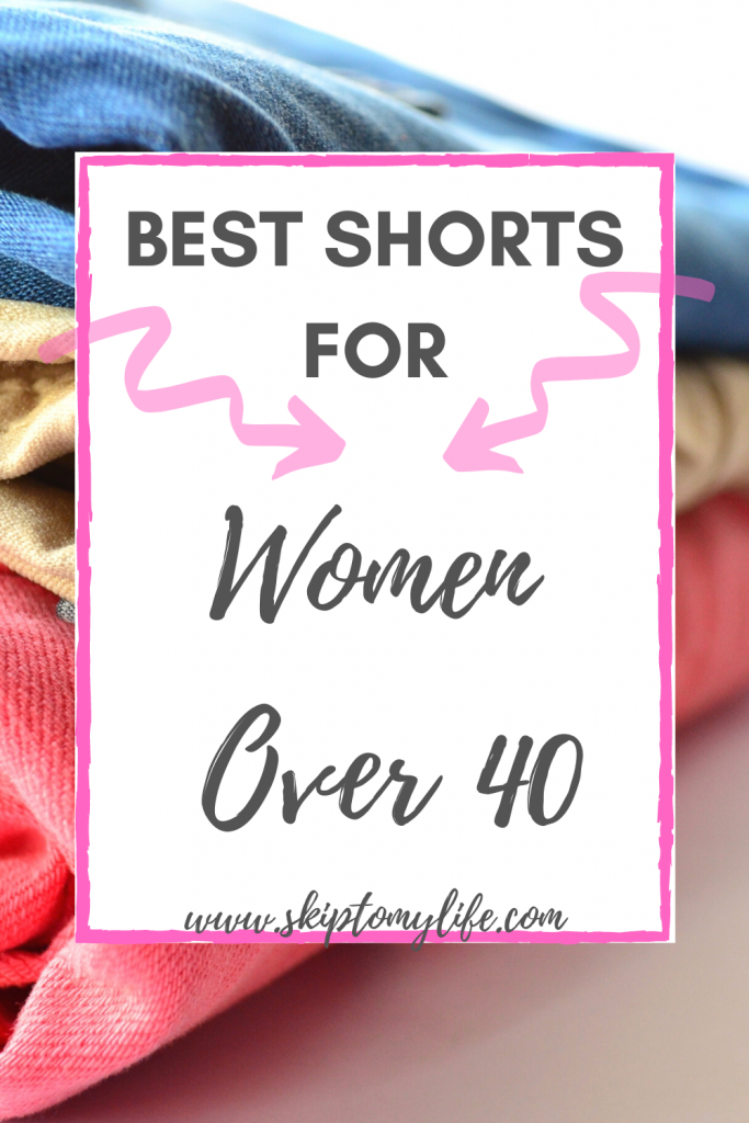 Need shorts shopping tips for women over 40? Look no further!