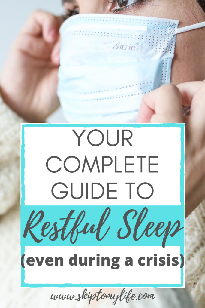 Trouble sleeping? Get restful sleep in crisis with this guide.